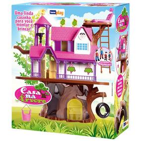 Brinquedo Casa Na Árvore 3901 - Home Play Frete Grátis!!!!!!