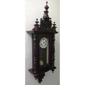 Relógio Antigo De Parede - Alemão - Marca R A