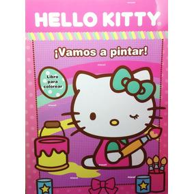 Hello Kitty Libro Para Colorear Tamaño Carta :)
