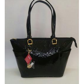a83e7621e39 Bolsa Para Dama Charol Negro Elegante. Piel Genuina 100%