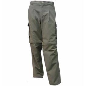 Pantalon Bermuda Doble Desmontable Cargo Hombre Forest Refor