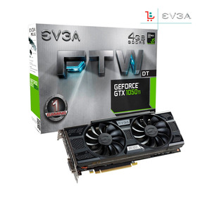 Tarjeta De Video Doble Fan Geforce Gtx 1050 Ti Ftw Ddr5 4gb