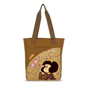 Bolsa Escolar Niña Mafalda Chenson Original Mod. Ma60635-b