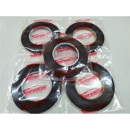 Cinta Bifaz Espumosa Negra Doble Adhesivo 8mm X 3 Metros