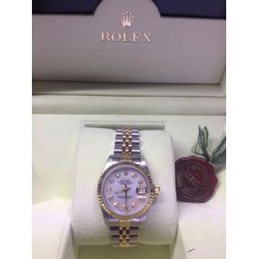 Rolex Datejust Oyster Perpetual Con Dial De Diamante Blanco