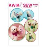 Patrones Kwik-sew K4152 Perro Ropa, Todos Los Tamaños