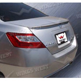 Spoiler Honda Civic Emotion Coupe (2 Puertas ) Color Plata
