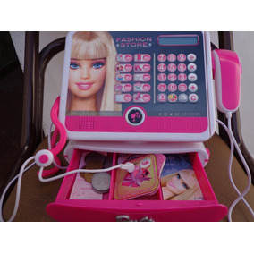 Barbie - Caja registradora Fashion (Lexibook RPB554) 79