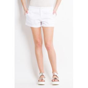 Yagmour Short Tiro Medio Calce Slim Bolsillos En Frente Y Tr