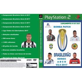 Bomba Patch Brasileirao Serie A B C D V2 2017 Ps2 Frete Grat
