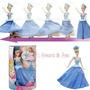 Barbie Giratoria Princesa Cenicienta Vestido Mágico