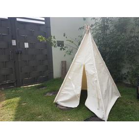 Cabana Infantil Em Algodão Cru Sem Janelas