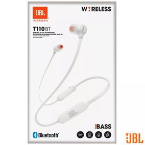 Fone De Ouvido Bluetooth Jbl T110bt Branco Original Com Nfe