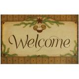 Welcome Door Mat - Campanas De Navidad Country Indoor / Out