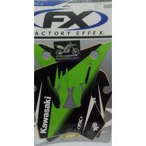 Kit De Calcas De Kawasaki Kdx 200 /220 1995 -2007