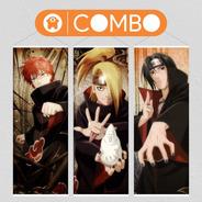 Lonas De Naruto Deidara Sasori Itachi Akatsuki  - Animeras