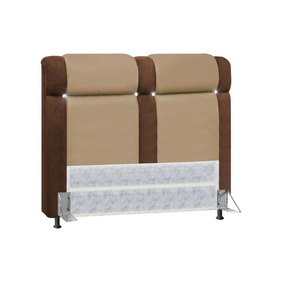 cabeceira nobuck bella casal todo para o seu quarto no mercado livre brasil. Black Bedroom Furniture Sets. Home Design Ideas