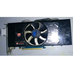 Placa De Video Ati Radeon Hd-4870 1 Giga Gddr5