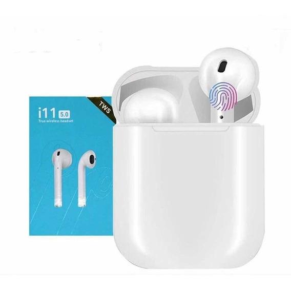 Auriculares I11 5.0 Tws Bluetooth Base De Carga Gtia Hyt