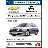 Diagramas Sistema Electrico Chevrolet Impala 2000 - 2010