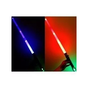 Espada Star Wars Sabre Luz E Som + Pilhas Sabre De Luz