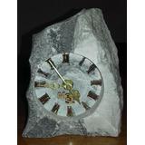 Reloj De Mesa De Mármol Onix Gris De Merlo, San Luis