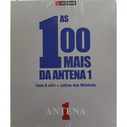 Box As 100 Mais Da Antena 1 - 6 Cd+letras Das Música Lacrado