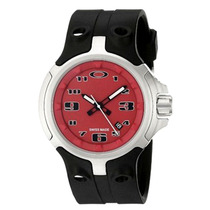 Reloj Oakley Bottle Cap Red 100% Original Nuevo Importado