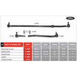 Kit Barra Direccion Ford F100 66 Al 83 Twin I Bean Oferta