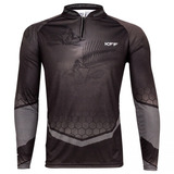 Camisa Kff63 Pesca Sublimada - Fishbone Protecao Solar