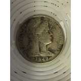 Escasa Moneda De 1 Centavo Colombiano De 1947