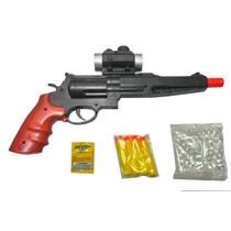 Rifle Lança Dardos Pistola Cowboy 2x1 Arminha De Brinquedo