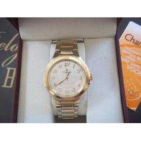 7d3bd9574ad Relogio Masculino Dourado - Relógio Champion Masculino em Santa ...