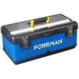 Caja De Herramientas Foreman De Metal 18,5