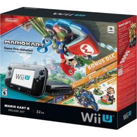 Nintendo Wii-u Deluxe Mário Kart 8 Mais Jogo Pré Instalado