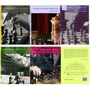 5 Libros Ajedrez - Coleccion Aprendiedo Ajedrez