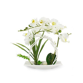 Arreglos En Maceta Artificial Flor De La Orquídea Flores Bon