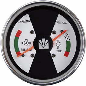 Indicador Temperatura Agua Pressao Oleo Valmet Valtra W05001