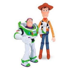 Kit Buzz Lightyear E Woody Toy Story 4 - Toyng 35705