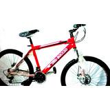Bicicleta Montañera Rin 26 Repuestos Shimano Del Boccio