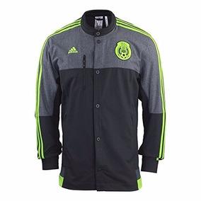 Chamarra Original Anthem Adidas Selección Mexicana Mexico