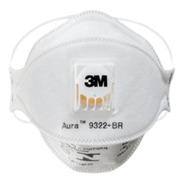 Pff2 Aura 3m Máscara Descartável Com Válvula