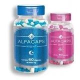 Kit Alfacaps Day E Night - 60 Caps Original Envio Imediato