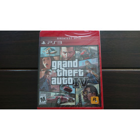 Grand Theft Auto Iv Ps3 Nuevo Sellado