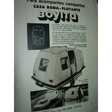 Publicidad Camping Casa Rodante Anfibia Flotante Boyita