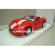 Shelby Series One 1999 - Oldsmobile V8 300 Hp- R Maisto 1/24