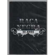 Dvd Raça Negra 25 Anos * Original, Novo E Lacrado