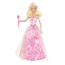 Barbie Princesa Barbie Doll Dress Pink - Versión 2012