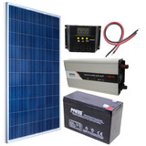 Kit Solar Fotovoltaico 500w Paneles Regulador Inversor