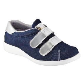 Zapatos Deportivos Casuales Niña Suela Blanca Mayor Y Detal